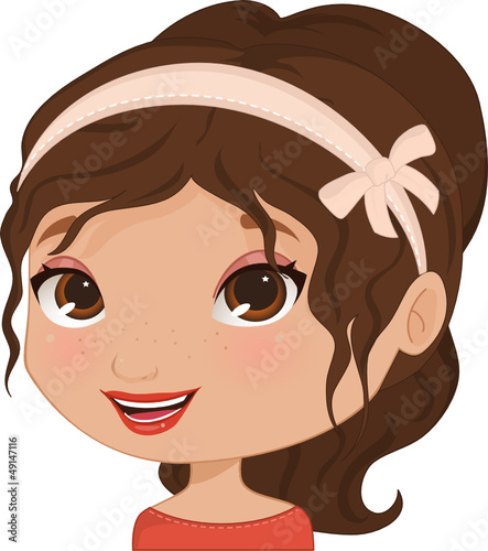 Cute Girl Avatar