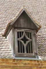 Klosteransicht, Giebelfenster