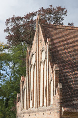 Klosteransicht, Giebel