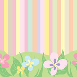 Fototapeta kwiaty - liście - Kwiat