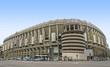 Leinwandbild Motiv Santiago Bernabeu Stadium