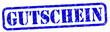Gutschein Stempel blau  #130203-svg06