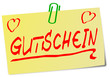 Gutschein Post It gelb  #130203-svg03
