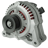 Car alternator, 3D render
