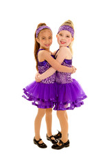 Hugging Tap Dance Friends