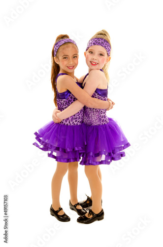 Keuken foto achterwand Dance School Hugging Tap Dance Friends