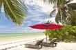 plage tropicale de Praslin aux Seychelles