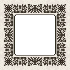 abstract vintage frame