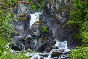Waterfall on Alaska