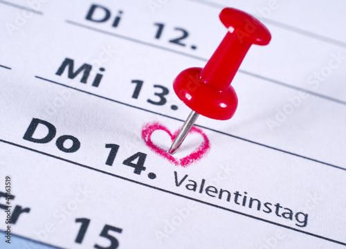 Terminplaner – Valentinstag am 14.2.!