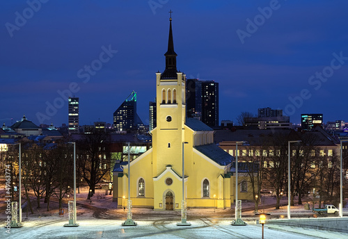 Church of St. John the Evangelist in Tallinn, Estonia
