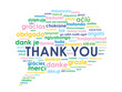 """THANK YOU"" Card (a lot thanks gratitude congratulations)"