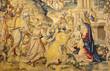 Bergamo - gobelin of Adoration of the Magi in cathedral