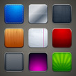 High detailed backgrounds for apps icons