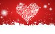Herzen und Sterne Hintergrund