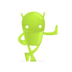 funny cartoon android