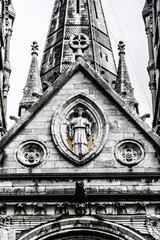 Saint Fin Barre's Cathedral in Cork city, ireland.