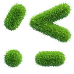 green grass punctuation