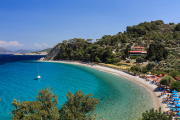 Tsamadou beach, Samos, Greece