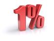 1 percent sign