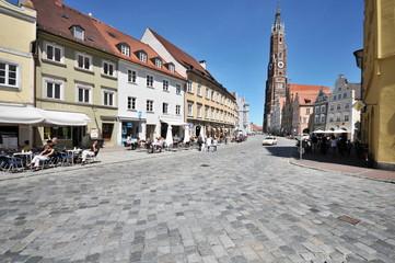 Altstadt, Dreifaltigkeitsplatz, Landshut, #3643