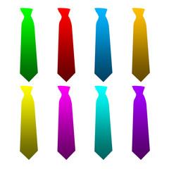 Plaquette de cravates