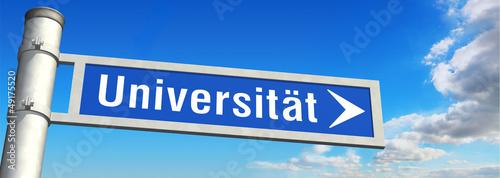 Wegweiser Universität