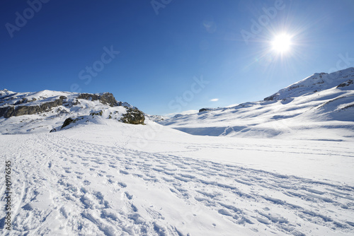 Fototapete Berg - Pyrenees - Hochgebirge