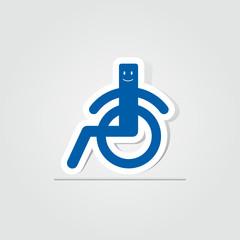 picto handicapé