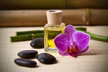 aceite y aroma del spa