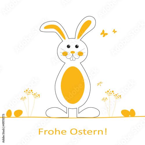 Fröhlicher Osterhase