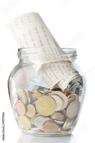 Savings and bills