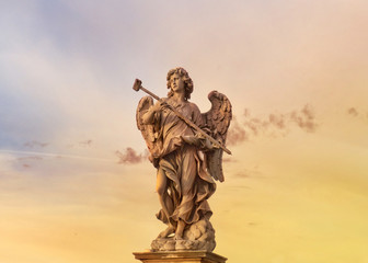 statue of an angel of Castel Sant'Angelo, Rome