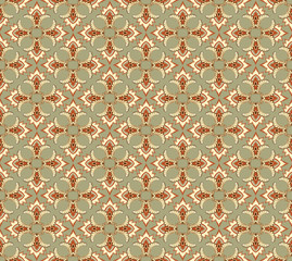 Abstract FloralTexture. Seamless pattern. Ornament Background