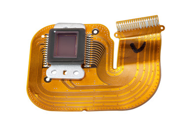 Sensor of the digital camera