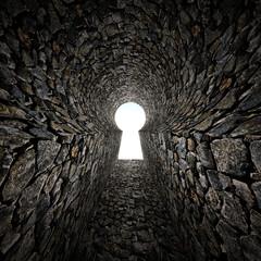 stone keyhole