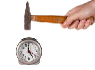 romper la hora movimiento