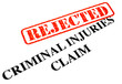 Unsuccessful Criminal Injuries Claim