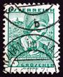 Postage stamp Austria 1934 Woman from Lower Austria