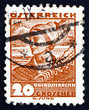 Postage stamp Austria 1934 Woman from Upper Austria