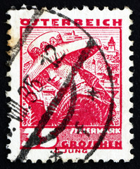 Postage stamp Austria 1934 Woman from Styria