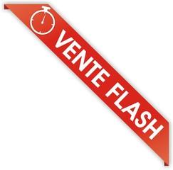 bouton bordure vente flash