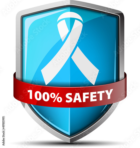 HIV/AIDS safety shield