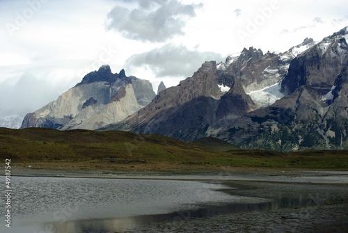 Paysage de Patagonie, Chili