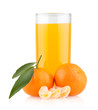 orange juice with oranges
