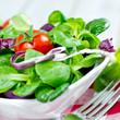 Salat mit Tomate