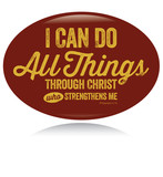 Vintage Christian design – I can do all things