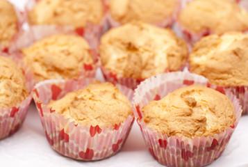 Fresh cupcake muffins