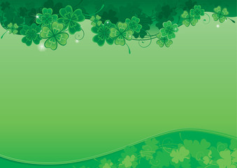 Background  for St. Patrick's Day with place for text
