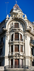 Building in Granada City in Andalusia - Spain